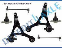 (6pc) 2003-2014 Volvo XC90 Front Lower Control Arm Ball Joint Sway Bar link Kit