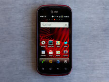 Pantech Burst P9070 16GB Red UNLOCKED for GSM Only New Condition Smartphone