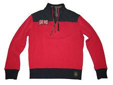 Polo Ralph Lauren Red Black Great Britain British Moto Racing Jacket Coat Large
