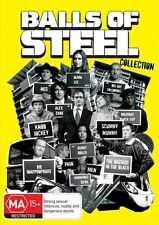 BALLS OF STEEL - COMPLETE COLLECTION (4 DVD SET) BRAND NEW!!! SEALED!!!