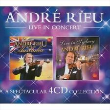 Live in Concert by André Rieu (CD, May-2010, 4 Discs, Decca)