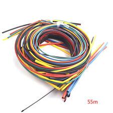 55M Diameter 1.5-22mm Heat Shrink Tubing Shrinkable Tube Sleeving Wrap Wire Kit