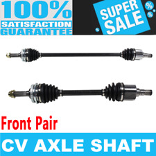 2x Front CV Axle Drive for GEO METRO 95-97 L4 1.3L Automatic Transmission