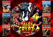 Tales From The Crypt & Other Horror Comics On PC DVD Rom (CBR FORMAT)