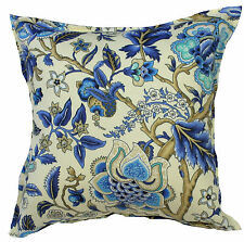 Imperial Azure Outdoor Indoor Cushion Cover QLD Made Outdoor Fabric
