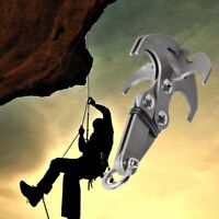 Stainless Steel Grizzly Hook Grappling ClimbingTail Carabiner Multifunction Tool