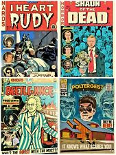 horror movie fake comics cover art 3 unofficial gildean t shirts take your pick