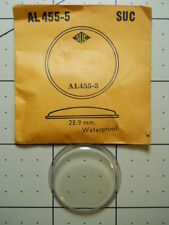 SUC ROUND WATERPROOF Watch Replacement Crystal AL 455-5 - A 458 28.9 mm AL455-5