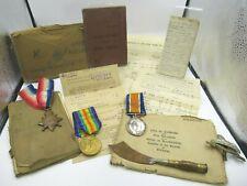 WW1 Medal Group inc. 1914-1915 Star, with Ephemera, RFA Corporal Bombardier