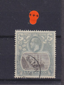 Ascension KGV SG 13 Cat £13.00 Used