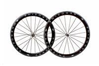 Aerozine XW-RD50 Road Cyclocross Bike 700c Tubular Carbon Wheelset 10s 11S Black