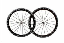 AEROZINE Xw-rd50 Road Bicycle Bike 700c Tubular Carbon Wheelset 10s 11s Wheel