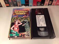 America's Weirdest Homes Vol. 4: Weird Art VHS 1999 Arthur Black Wild & Wacky