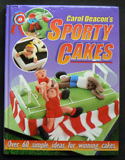 SPORTY CAKES Cake Decorating Cricket Tennis Fishing Football Golf Snooker Rugby