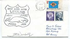 1976 US Coast Guard Cutter Westwind Milwaukee Polar Antarctic Cover SIGNED