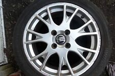 VOLVO S40 4 STUD ALLOY WHEEL WITH TYRE 225 45 17 MANCHESTER