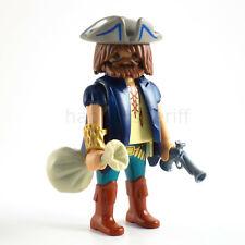Playmobil Pirate Figure with Money Bag Custom Figure