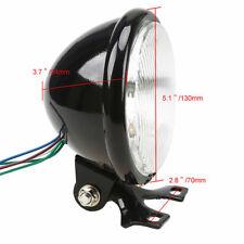 Aluminum Headlight Lamp For Harley Cafe Racer Bobber Custom Chopper Motorcycles