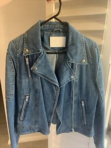 Ena Pelly Classic Denim Jacket Size Small