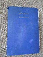 JO'S BOYS by Louisa May Alcott, 1938, ILLUS Clara Burd ~ Orchard House Ed, HC