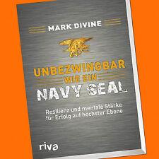 Mark Divine   UNBEZWINGBAR wie ein NAVY SEAL  Resilienz und mentale Stärke(Buch)
