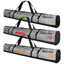 BRUBAKER CarverTec Pro Ski Bag for 1 Pair of Skis and Poles - multiple colors