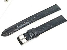 Watch Band 20mm Long Genuine Alligator Leather quality EURO manufactured