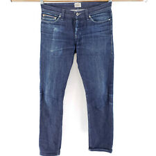 Naked And Famous 31 Jeans WeirdGuy Indigo Selvedge Slim Straight Button Fly