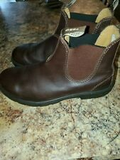 Blundstone 550 brown leather boots mens 10.5 very gently used!