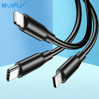 0.5M 1M 1.5M Micro USB Data Sync Charger Cable Lead For Samsung Android Phones
