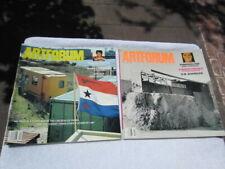 Lot of 2 Artforum International magazine 2001 APR MAY # 9