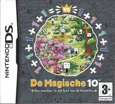 DE MAGISCHE 10 - AVONTUUR IN HET LAND VAN DE TIENTALLEN voor Nintendo DS NDS