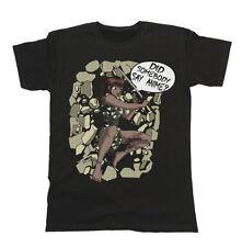 Cartoon Cotton T-Shirts for Women