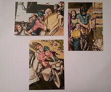 TANINO LIBERATORE 3 cartes postales Love stories particolare