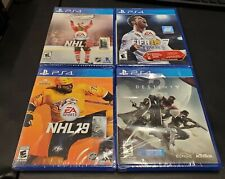 Lot Of 4 SEALED PS4 Games Destiny 2, Fifa 18, NHL 19, NHL 16 Playstation NEW