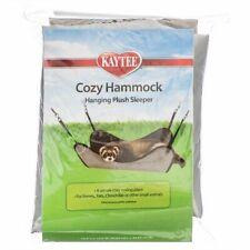 """LM Kaytee Plush Hammock Hanging Sleeper - Assorted (14.5"""" Long x 14.5"""" Wide)"""