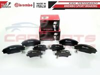 FOR HONDA CIVIC TYPE R FN2 2.0 VTEC 06- FRONT AND REAR BREMBO BRAKE PADS