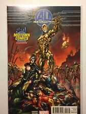 AGE OF ULTRON #1 MIDTOWN EXCLUSIVE J. SCOTT CAMPBELL COLOR VARIANT Sold Out