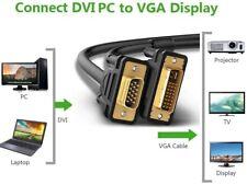 Cable DVI a VGA 3 METROS Alta Velocidad Alta Definicion DVI Macho VGA Macho