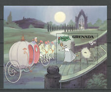 Walt Disney, Weihnachten, Aschenputtel, Cinderella - Grenada - Bl.98 ** MNH 1981