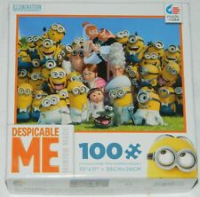 Despicable Me Movie Wedding Group and Minions 100 Piece Jigsaw Puzzle NEW SEALED