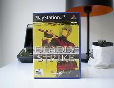 DEADLY STRIKE   PLAYSTATION 2   AUS STORE   FREE POST