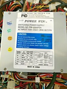 ON SALE! RARE VINTAGE POWER WIN PW-200APSA AT TOWER POWER SUPPLY