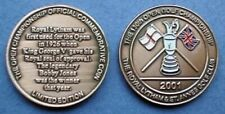 2001 OPEN GOLF CHAMPIONSHIP LARGE BRONZE LIMITED EDITION COIN GREAT BALL MARKER