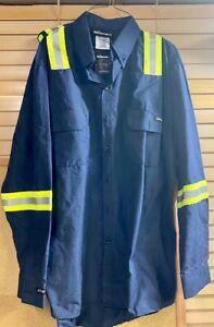 Lightweight Carhartt / Workrite FR VENTED shirt 7.3 ATPV-  Oil field,Tow NWT
