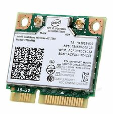 Intel 7260HMW Dual band wireless-AC 7260 867Mbps 802.11ac Wifi BT 4.0 PCI-E Card
