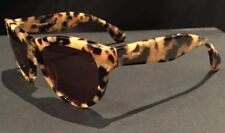 MIU MIU - As New - On Trend Tortoise-shell Cat Eye Sunglasses - 100% authentic