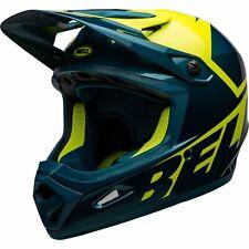 Bell Transfer MTB Full Face Helmet Slice Gloss Blue / Hi-Vis