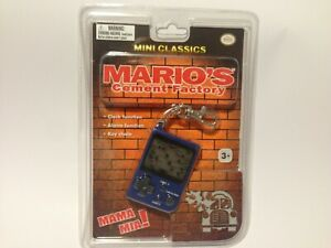 Nintendo Mini Classics Mario's Cement Factory Keychain Game & Watch