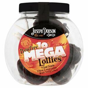 Lollipop Jar Joseph Dobson Mega Bonfire Lollies Gluten Free